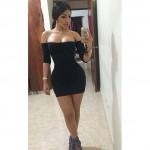 amazing sexy girl wearing cute shorties  (18)