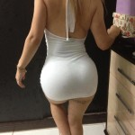 very sexy lady wearing sexy shorties (7)