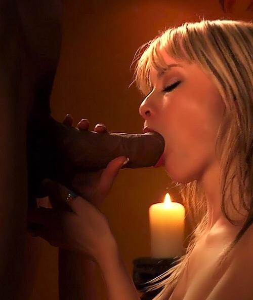 Sexy white girls sucking black dick picture 120