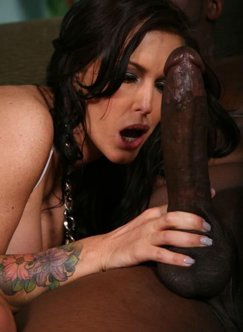 White girl suck big black dick Pope