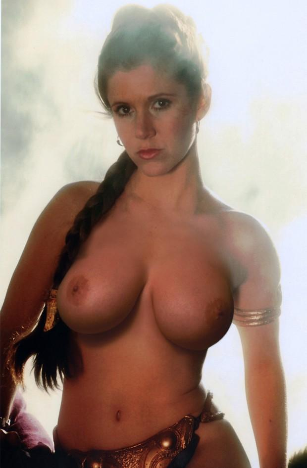 фото голая кэрри фишер